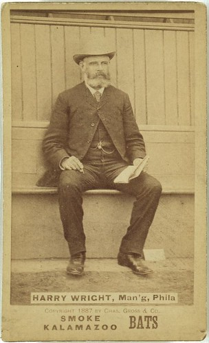 Harry Wright, man'g, Phila. (LOC)   by The Library of Congress