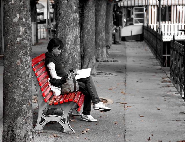 La Panchina Rossa e il Libro