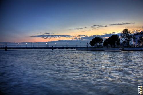 venice sunset canon san tramonto ponte della venezia 2009 hdr libertà giuliano canottieri stokaz