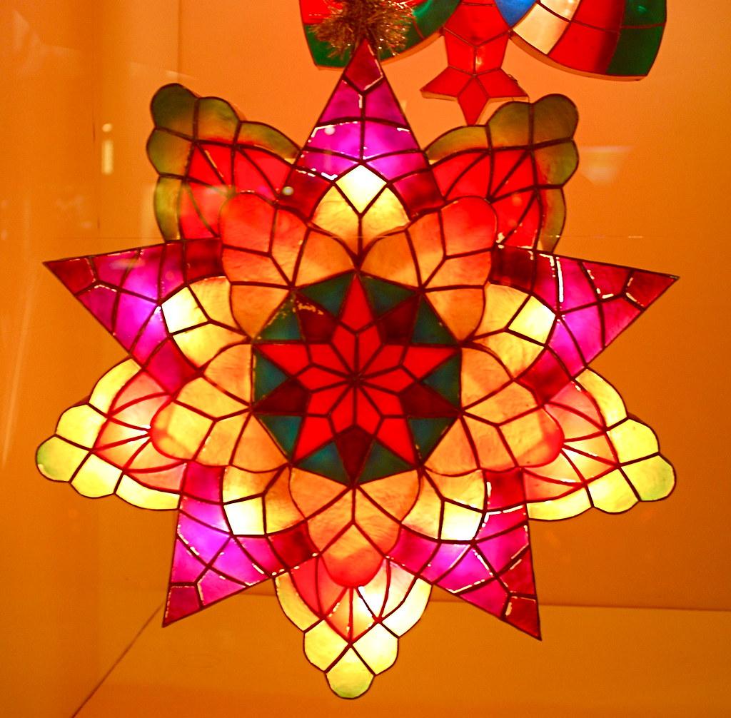 Philippine Capiz Shell Christmas Lanterns Parol At The P Flickr