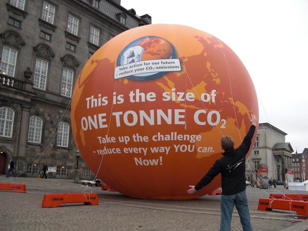 one Tonne CO2