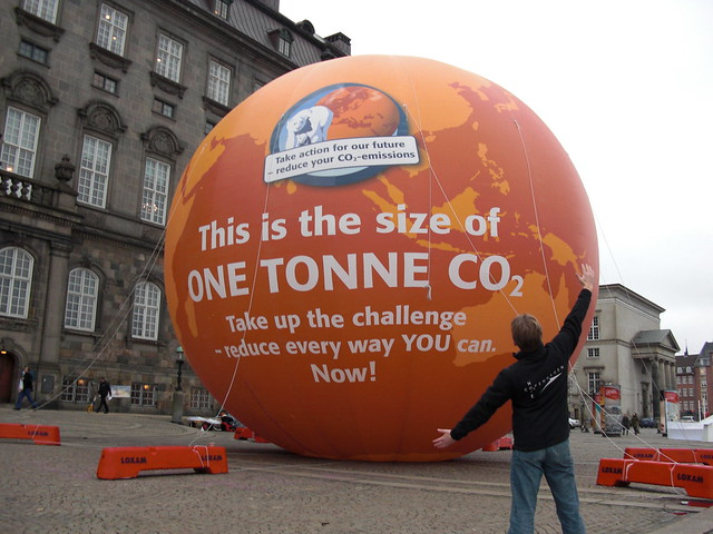 one Tonne CO2