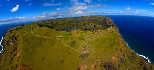 KAP at Rano Kao, Easter Island. | by Pierre Lesage