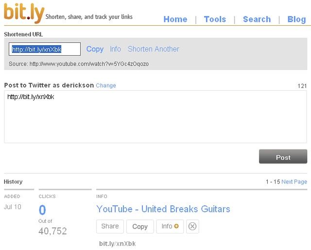 United Breaks Guitars - bit ly YouTube Video Link Sharing … | Flickr