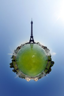 Green Eiffel (400th Wee Planet) | by gadl