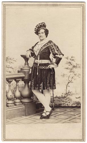Charlotte Cushman as Romeo