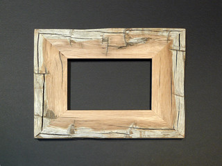 white oak picture frame | by druid labs
