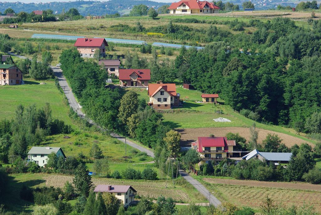 Dobczyce, ulica Podlesie