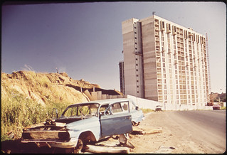New High Rise Apartments on Southern Outskirt of the City 02/1973