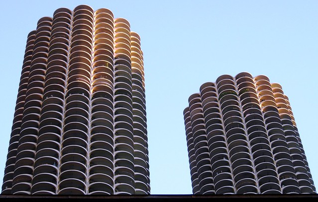 towers, Chicago. Look, there's Bob, and Suzanne.