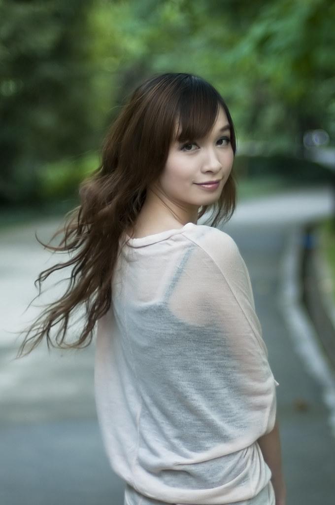 Chinese Cute Girl  Xuan Zheng  Flickr-8305