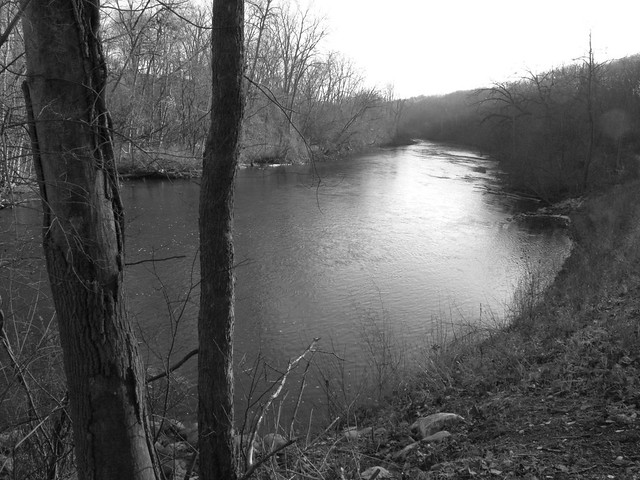 Huron River, Nichols Arboretum, University of Michigan, Ann Arbor, MI