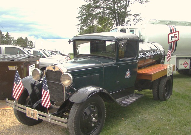 Ford Oil truck