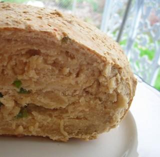 beer bread w/green onions & cheddar
