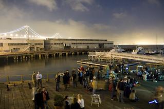 NewTeeVee Screenings at the Pier | by jamesjyu