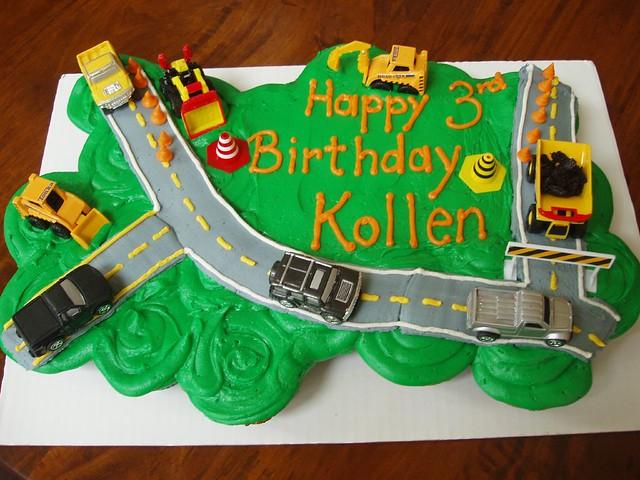 Groovy Tonka Truck Cupcake Cake Claudine Flickr Funny Birthday Cards Online Necthendildamsfinfo