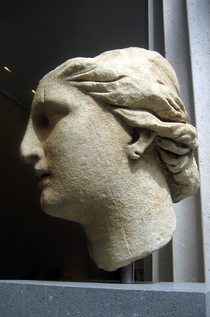 NYC - Metropolitan Museum of Art - Marble Head of Athena