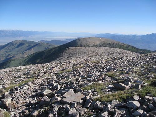 Views from Wheeler Peak in Great Basin National Park, Nevada