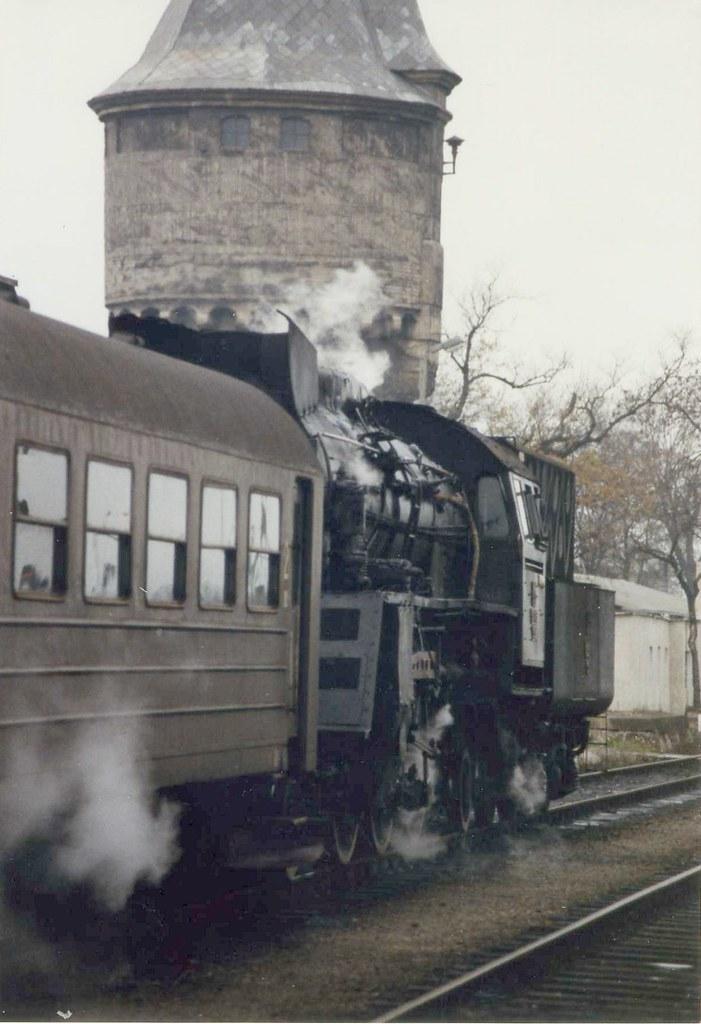 About >> Dworzec PKP, Żagań, Poland November 1989 Ol49 90 | A ...