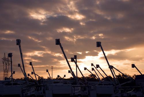 sunrise power bucketturcks