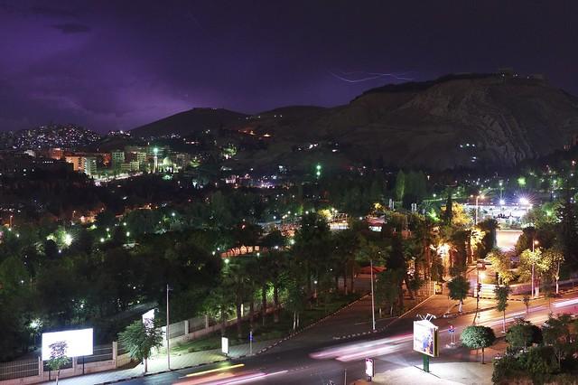 Damascus- Midnight lightening-  دمشق