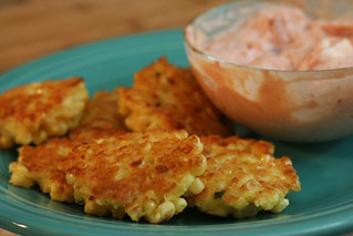 Corn Chive Fritters | by amyisaacson