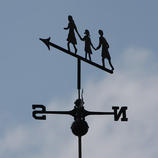 children weather vane | by Leo Reynolds