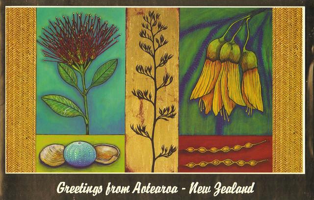 New Zealand Christmas Card