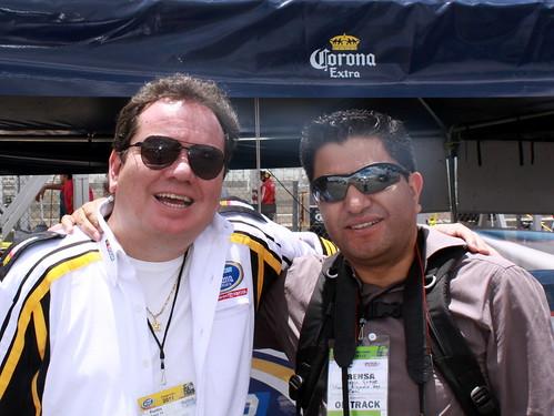 Jorge el Coque Muñiz de visita en Puebla