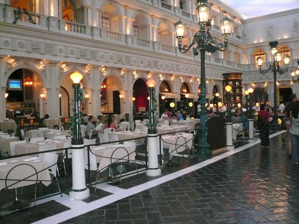 Canaletto Restaurant In Venetian Hotel Las Vegas July 2009