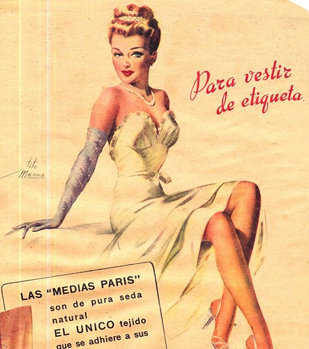 1946 sparkle glove ad from argentina | by vintage-13