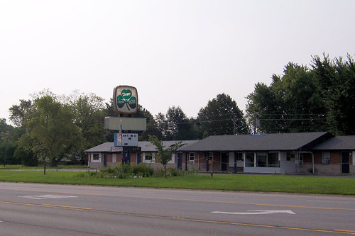 Roadside businesses on US 40   by Jim Grey