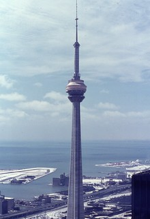 CN Tower, externally complete