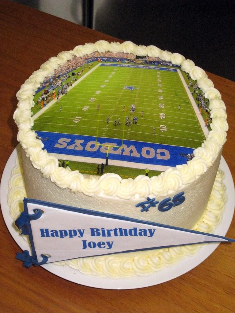 Fantastic Dallas Cowboys Birthday Cake Chocolate And Strawberry Cake Flickr Funny Birthday Cards Online Alyptdamsfinfo
