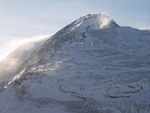 SV500017 - Mountain Peak near Columbia Icefield, Alberta Canada