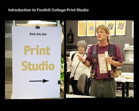 Book Arts Jam 2007 - Print Studio - slide 11