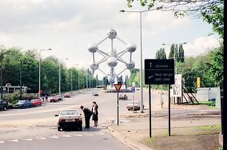 195/16. //60g/1c/184/1.f - Brussels / Bruxelles Atomium, Belgium 1987
