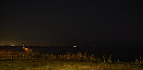 sky water mobile night dark stars lights bay pier iso200 alabama gimp olympus f28 30s yachtclub ep1 byc 17mm olympusep1