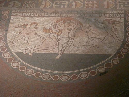 The Rape of Europa Mosaic, Lullingstone Roman Villa