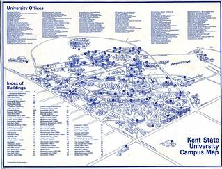Kent State University Maps on