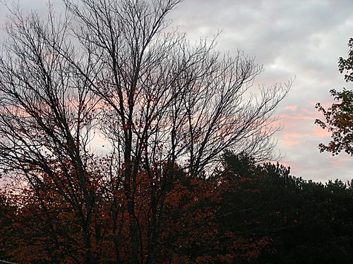 sky canada fall sunrise novascotia