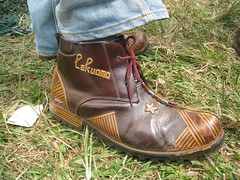 Boot with bamboo detailing | by Bill Zimmerman