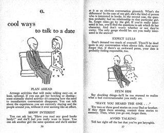 Cool ways to talk to a date (1/2), Unger 1961(?)