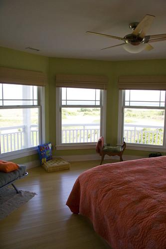 blue orange beach window bed spirals room northcarolina ceilingfan bedspread holdenbeach littleredelf andreaejanda