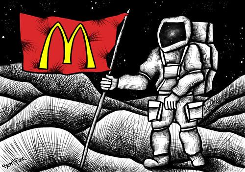 McDonaldization | by Ben Heine