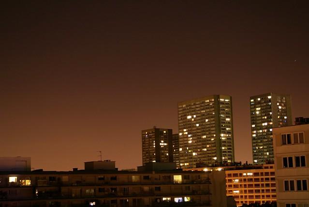 Nuit orangée