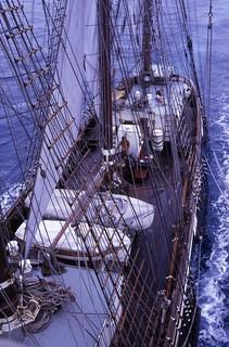 Regina Maris in the Pacific.
