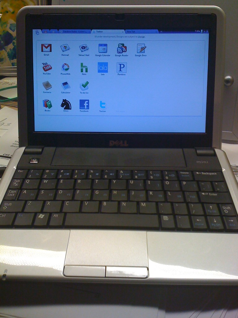Chrome OS on Dell Mini 9 | A copy of Google's Chrome OS runn… | Flickr
