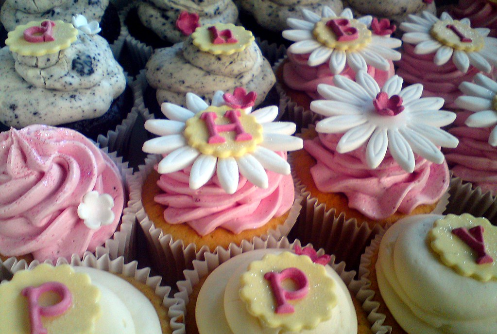 Happy Birthday Cupcakes For Girls 1st