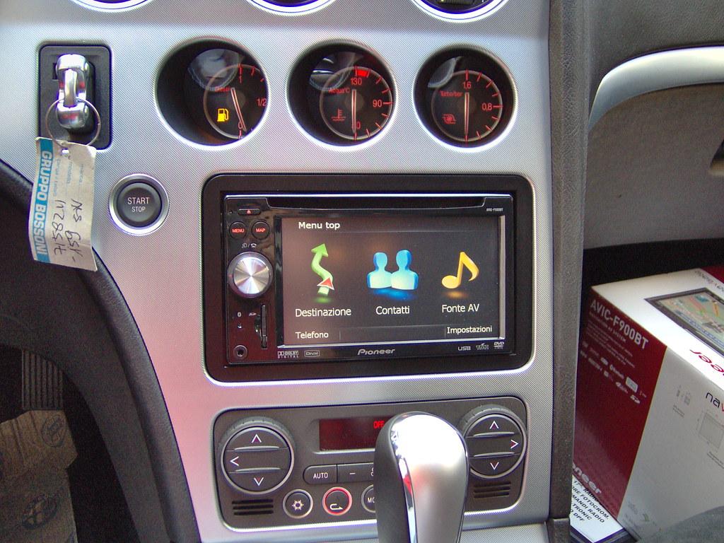 Alfa 159 Pioneer | AVIC-F900BT su Alfa 159, installazione by